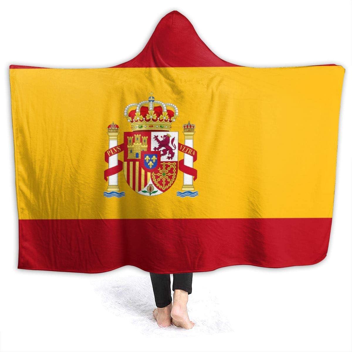 remmber me Bandera de España Manta cálida de 50x40 Pulgadas Forro Polar de Franela Ultra Suave Todas Las Estaciones Sala de Estar Liviana Dormitorio para niños Adultos Padres y Abuelos: Amazon.es: Hogar