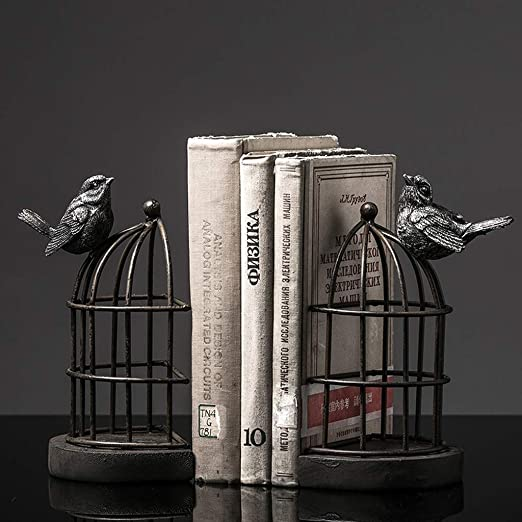 RMJAI Sala Estantería Europea Jaula de Aves de Hierro Forjado ...