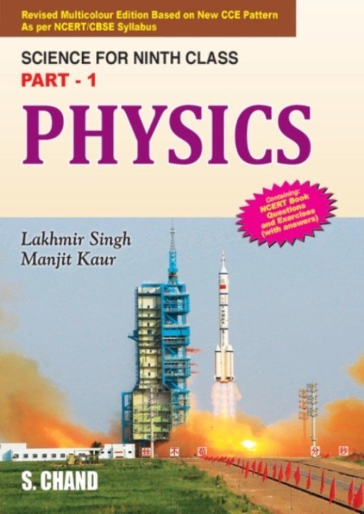 Physics For Class 9 Part 1 Physics Part 1 Amazon In Lakhmir Singh Manjit Kaur Books