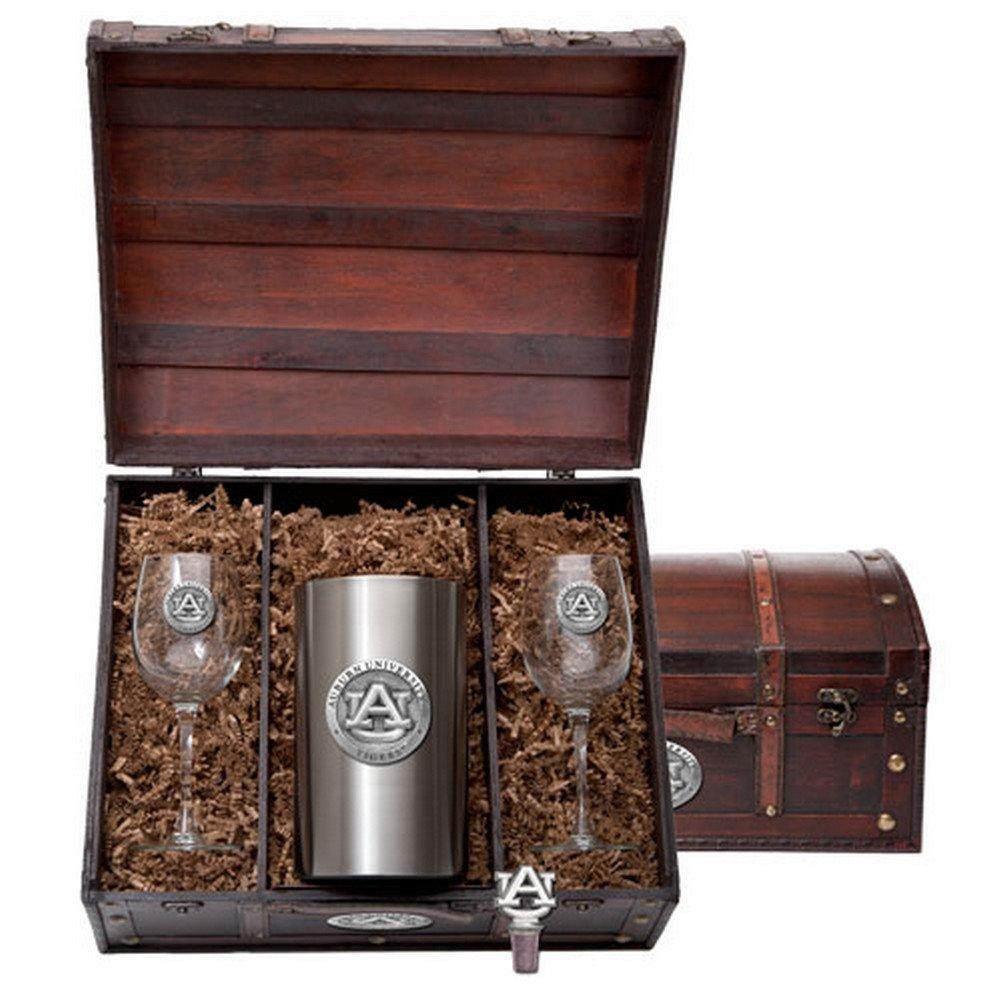 Auburn University Tigers Wine Gift Set