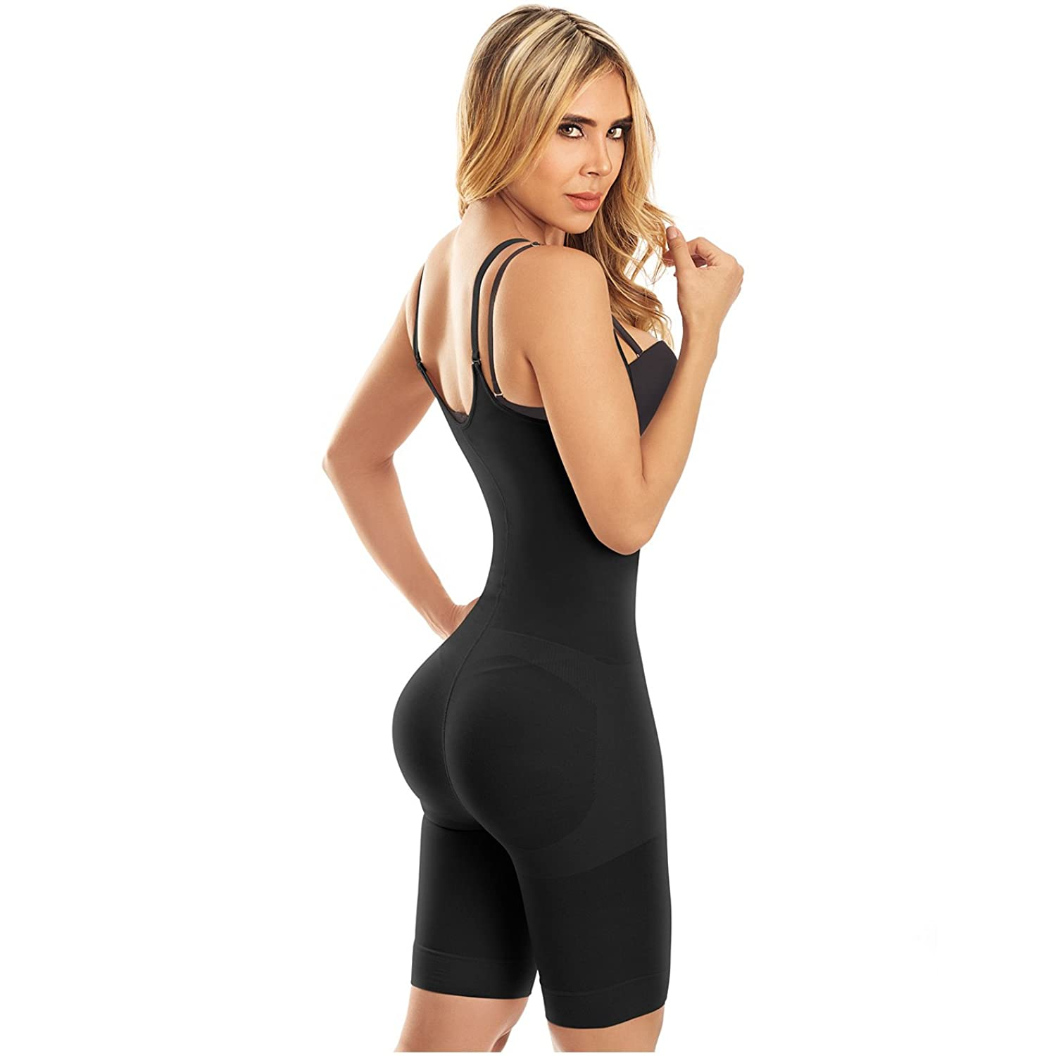 Laty Rose Butt Lifter Shapewear Open Bust Fajas Colombianas Reductoras Black XL at Amazon Womens Clothing store: