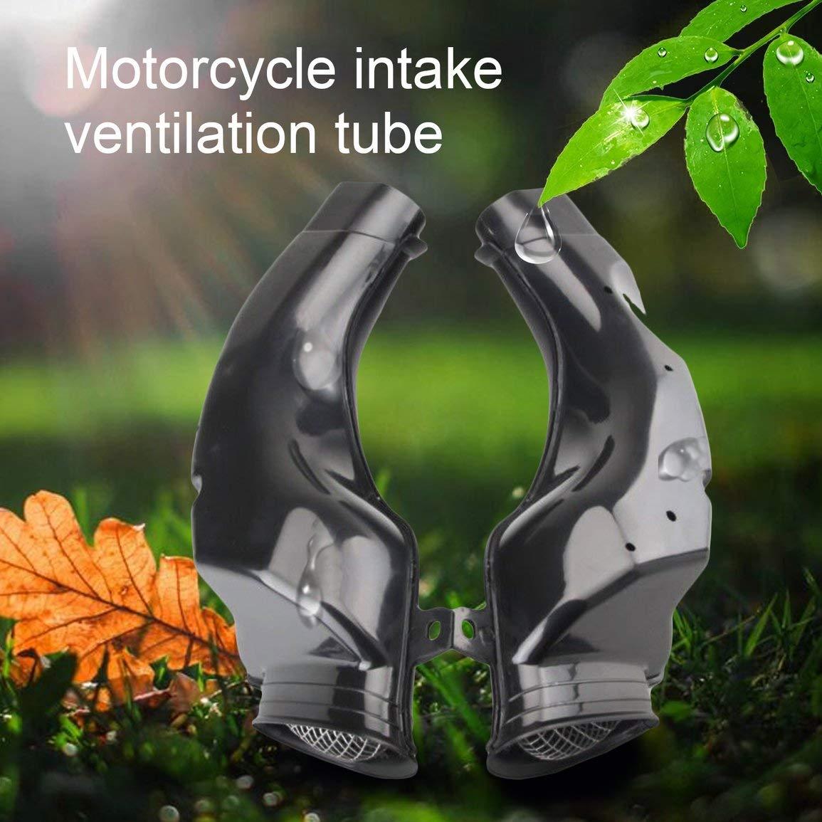 Garciaria Tuyau De Conduit De Tube Dadmission dair Moto Ram pour Suzuki GSXR 600 750 1000 00-03 K1 ABS en Plastique Moto Remplacement