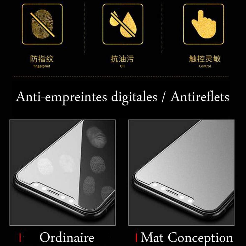 2x Protection Ecran pour Olympus XZ-10 Mat Film Protecteur Anti-Reflets