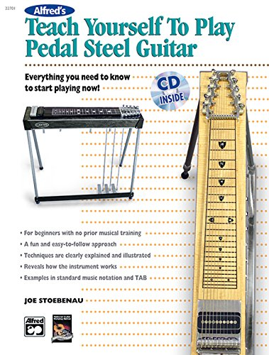 alfred 39 s teach yourself to play pedal steel guitar everything import it all. Black Bedroom Furniture Sets. Home Design Ideas
