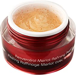 Vine Vera Resveratrol Merlot Peeling Gel | Paraben Free Luxury Face Scrub to Peel Your Way