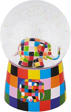 Bola de nieve con música – Elmer, 1 pieza: Amazon.es: Electrónica