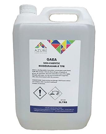 Gaea - Quitamanchas de tráfico biodegradables no cáusticas TFR muy desmontable – 5 L