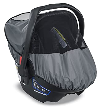 Amazon.com: Britax B-Covered All-Weather Infant Car Seat Cover with