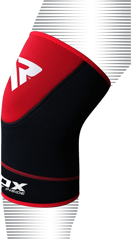 Le Paquet Contient Une Seule Pi/èce RDX Boxe MMA Genouill/ère Sport Fitness Soutien Genou Ligamentaire Protection