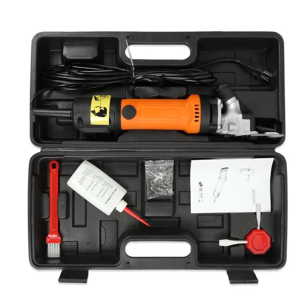 HONGHUIYU Elektrische Ziegenschere, Schermesser 110V-240V 320W 2400R 2400R 2400R   Min Vieh-Haarschnitt-Trimmer 6.6Lb, Orange B07Q3W9P2Q Geflügelscheren dc4d30
