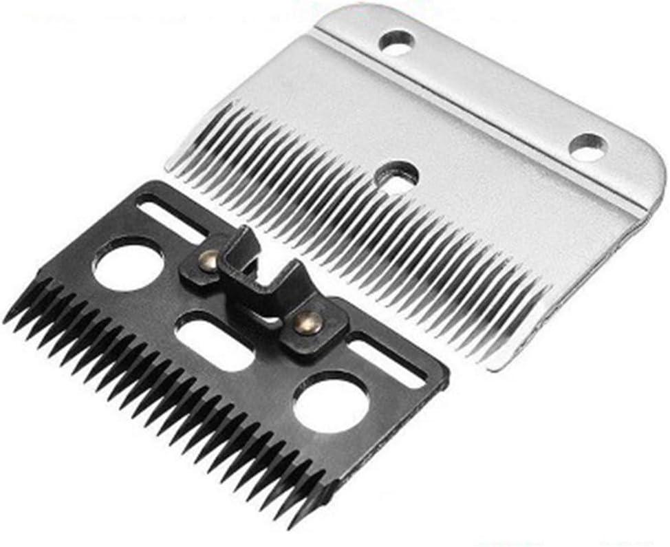 GMtes Cambio de Cuchilla para Electric Caballo cortadora de Cabello, Cuchilla de Recambio del Profesional