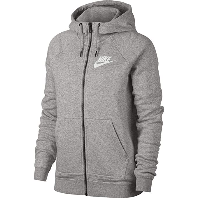 Nike Damen Rally Full Zip Kapuzenjacke