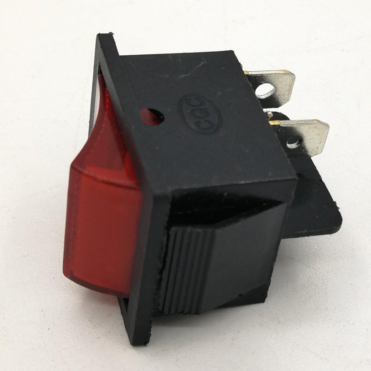 Cancanle Interruptor Universal de Encendido//Apagado para Motor generador de Gasolina GX340 GX390 GX420 GX440 5~8KW