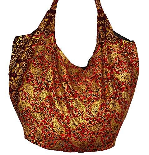 ZEN SHOP, Borsa a spalla donna rosso rosso 65 X 50 cm