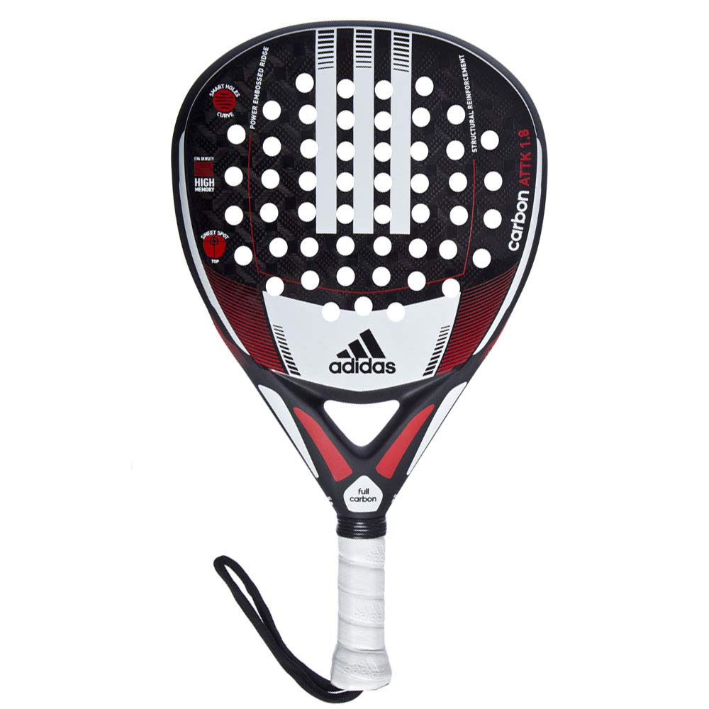Amazon.com : adidas Racket Padel Padle Carbon ATTK 1.8 ...