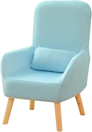 Amazon.com: XEWNEG - Silla moderna de tela de lino, cómoda ...