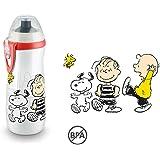 Nuk 10255317 Gourde pour le sport thème Snoopy et les Peanuts, sans bisphénolA, 450ml