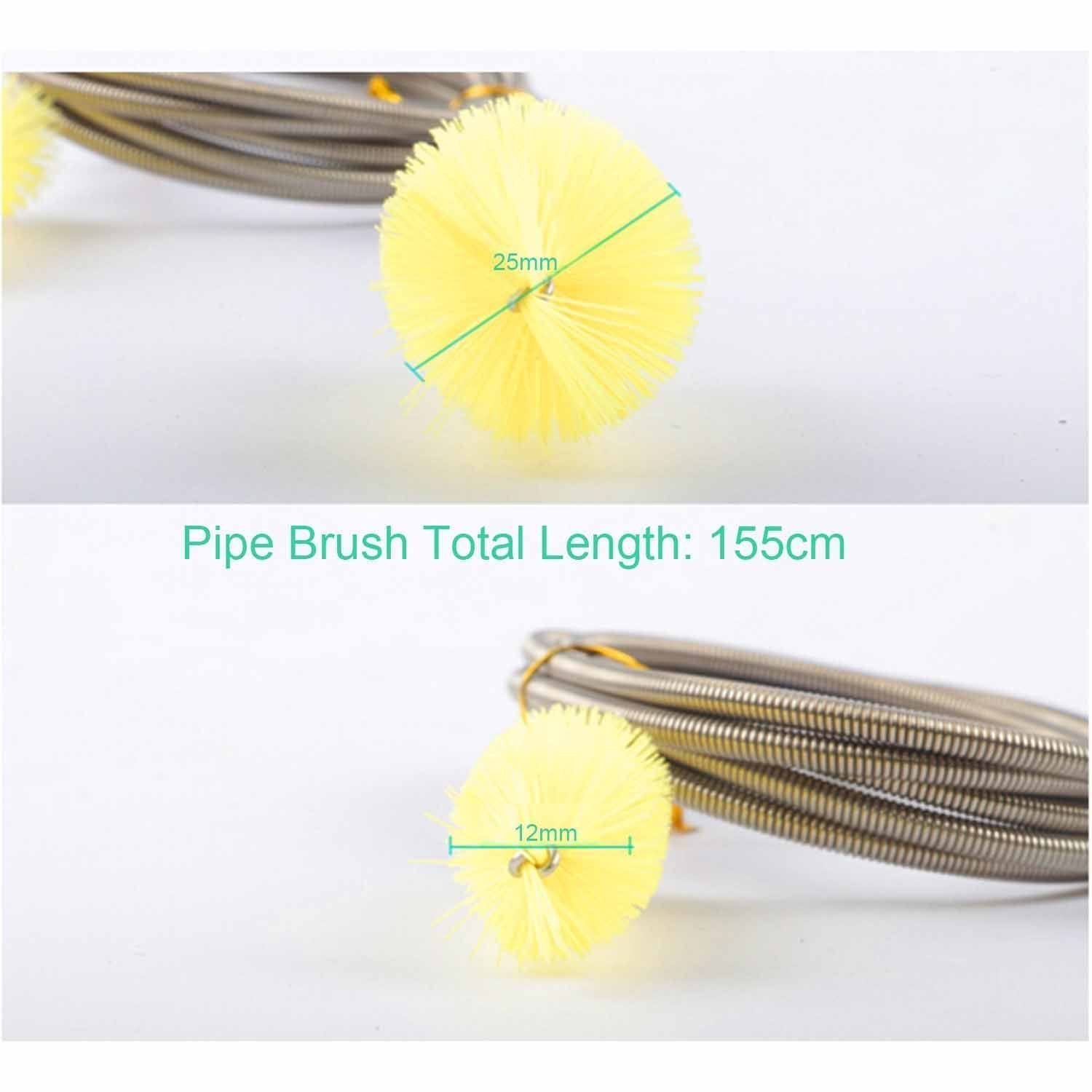 Double Ended Water Filter Pump Pipe Cleaning Brush Aquarium Fish Tank Air Tube Hose Cleaner