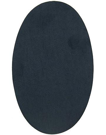 2 rodilleras de Ante color Marino termoadhesivas para planchar. Coderas para proteger tu ropa y