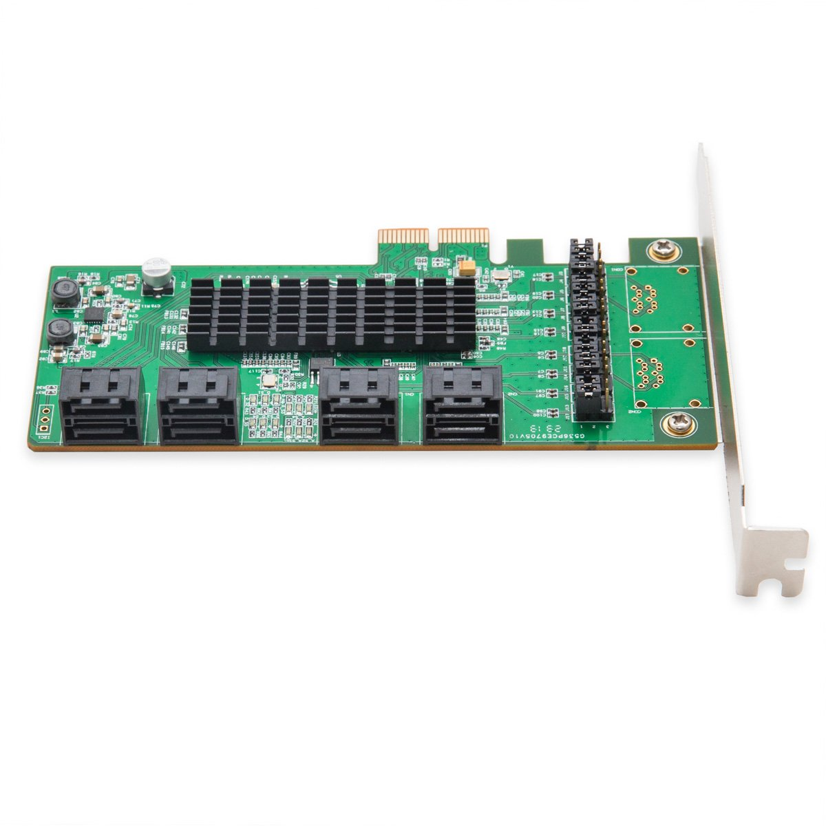I/O Crest 8 Port SATA III PCIe 2.0 x2 Non RAID Controller Card Marvell 88SE9705 Chipset High Speed by IO Crest (Image #3)
