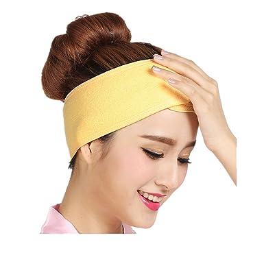 profiter de la livraison gratuite les clients d'abord produits de commodité Eponge Bandeau Maquillage Cheveux Serre Tête Soin Visage Maquillage  Porte-serviette