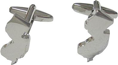 Kiola Designs Silver Toned Textured Octopus Square Tie Clip