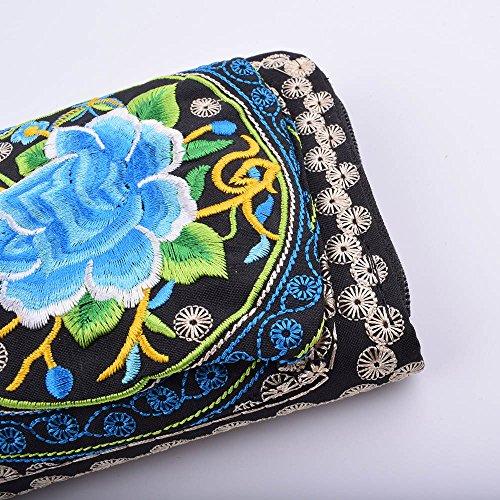 borsa della carta della borsa Titolare di borsa della della nuovo della della 3 fiore del stile frizione della del disegno borsa Boemia Iwtn85gq8x