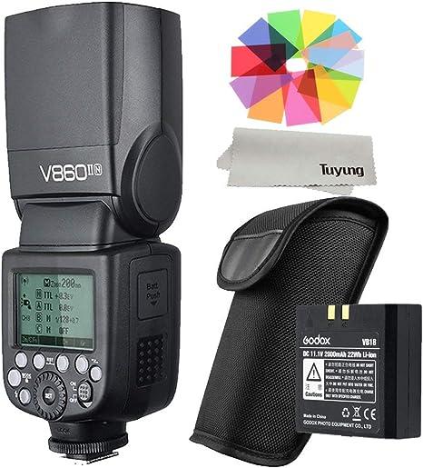 Godox v860ii Flash Speedlite luz de flash para Nikon cámara réflex ...