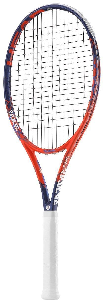 Head GrapheneタッチRadical Pro Tennis Racquet B07DFTFM5L 4 1/8 Green String Green String 4.125