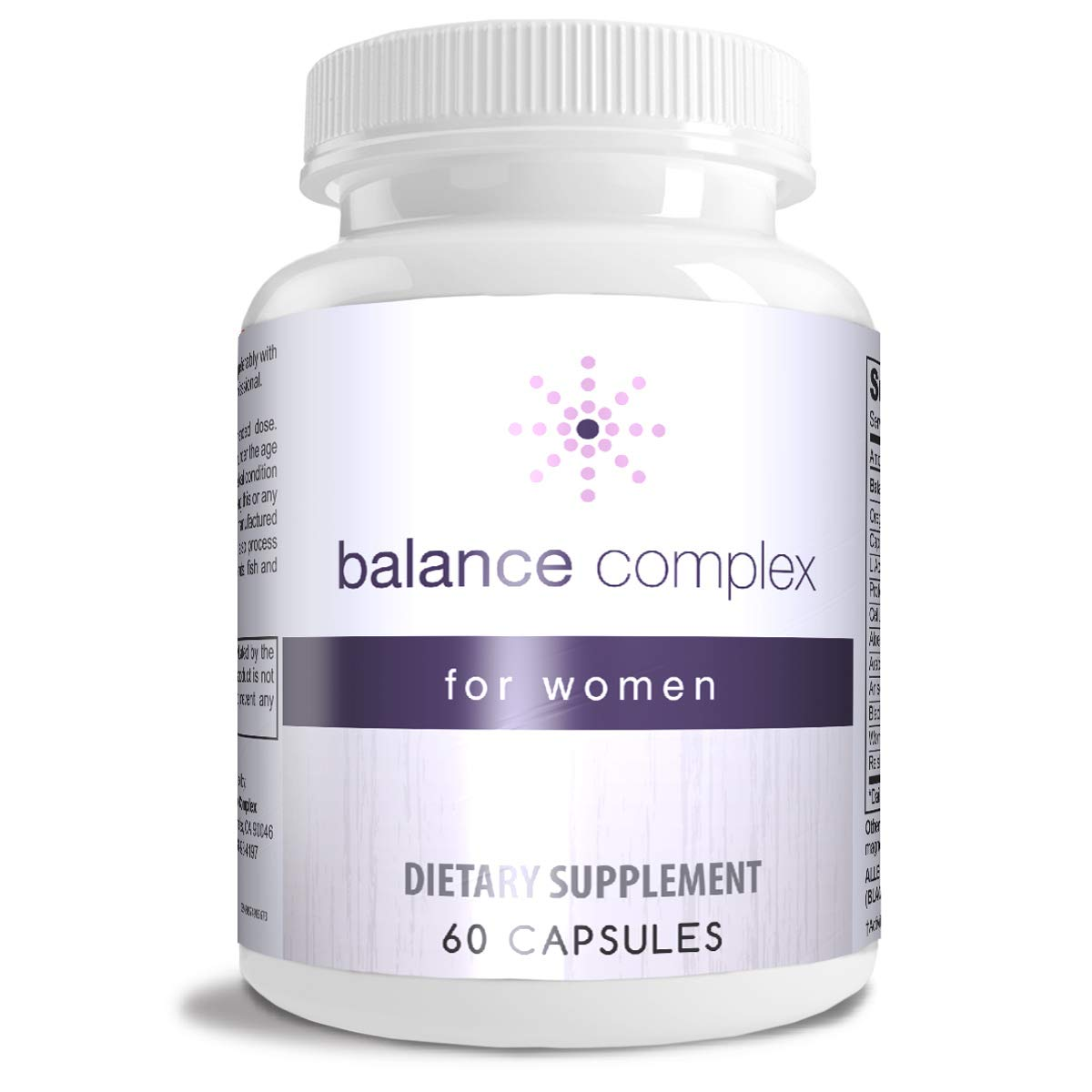 Balance Complex Vaginal Health Dietary Supplement, 60 Capsules by Instant Brands