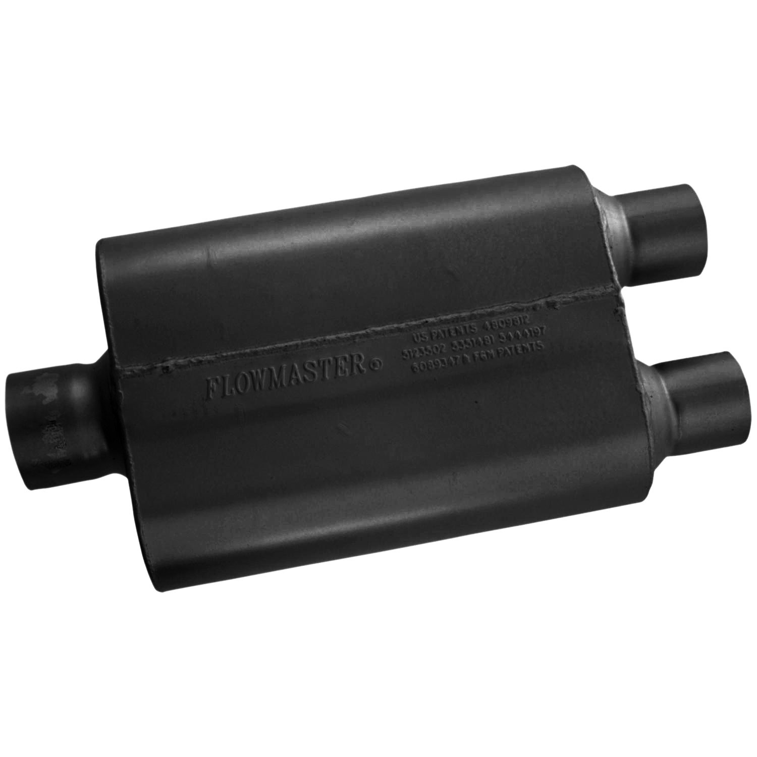 Flowmaster 430402 40 Series Muffler - 3.00 Center IN / 2.50 Dual OUT - Aggressive Sound