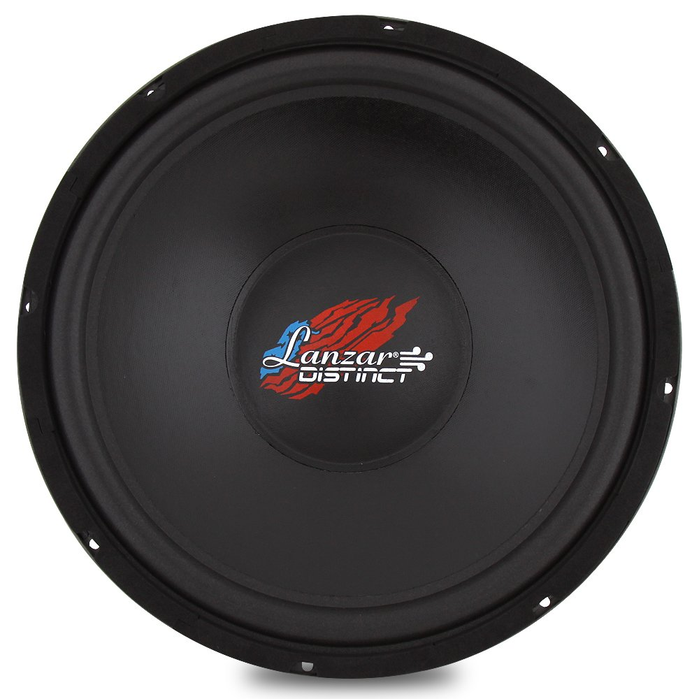 Amazon.com: Lanzar 18in Car Subwoofer DVC - IB Open Air Audio Stereo  Speaker, 4 Ohm Impedance, Steel Basket, 600 Watt Power, Non-Pressed Paper  Cone and Foam ...
