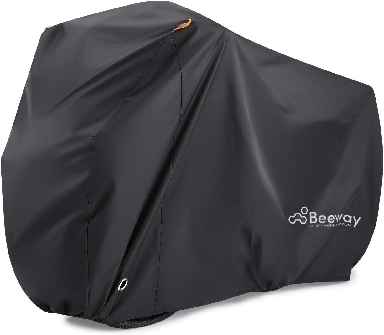 M 190T Waterproof Bicycle Bike Cover Outdoor Dust Anti UV Protector for 2 Bike