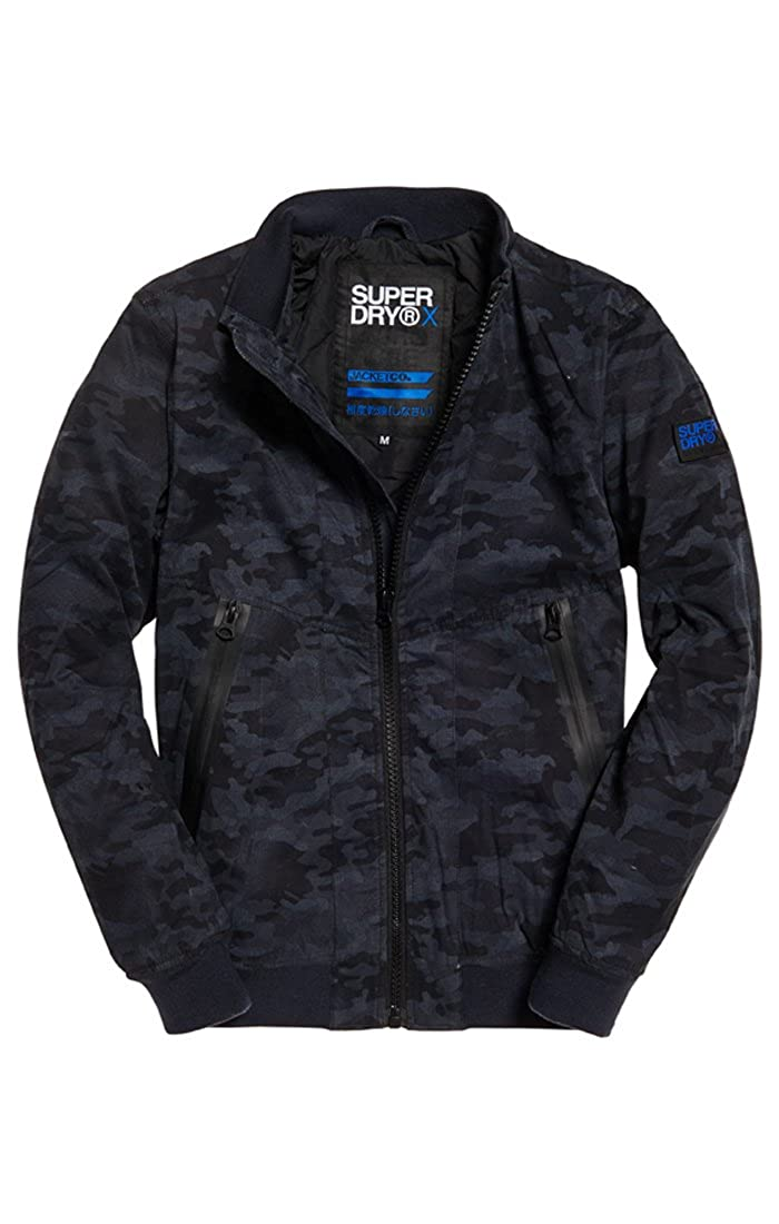 Superdry Microfibresolsticejacket, Giacca Sportiva Uomo M50007RQ