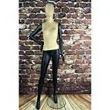 BEIYANG Female Mannequin Torso Dress Form Display Stand Designer Pattern (E(Female))