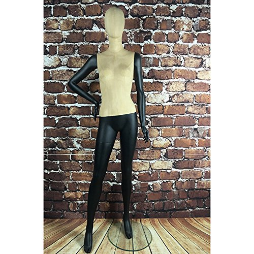 BEIYANG Female Mannequin Torso Dress Form Display Stand Designer Pattern (E(Female)) by BEIYANG