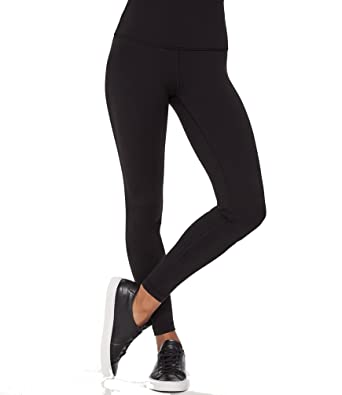 bb198202e5f7d lululemon Wunder Under Yoga Pants Hi Rise Mesh Black Shine On Luon ...