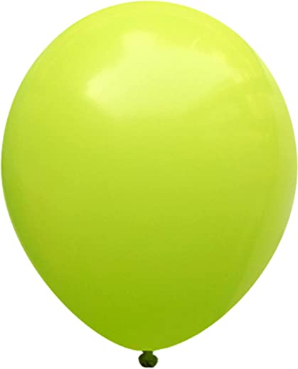 Neo LOONS(TM) 5 Inch Pack of 100 Pcs Pastel Lime Green Premium Latex Balloons Great for Kids, Birthdays, Weddings, Receptions, Baby Showers, Water Fights, or Any Celebration