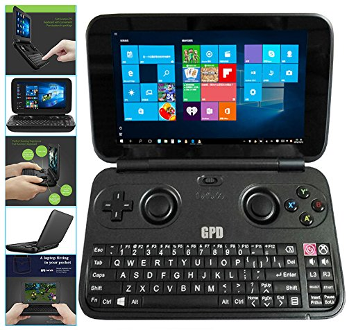 """Price comparison product image GPD WIN Aluminum Shell Version June 5th Update X7-8750 Gamepad NoteBook Tablet PC 5.5"""" Handheld Gaming Portable Video Game Console Windows 4GB/64GB"""