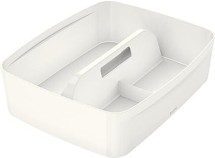 grigio Grande organizer da cucina per la pulizia cestino per il trasporto vassoio resistente