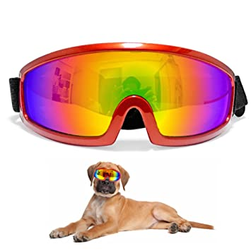 Amazon.com: Mascota Perro Grande anteojos de sol anteojos ...