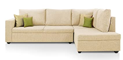 Comfort Couch Classic Lounger Sofa Set (Off White)
