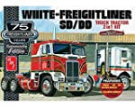 AMT AMT1046 12 1 25 White Freightliner 2 in 1 SC DD Cabover