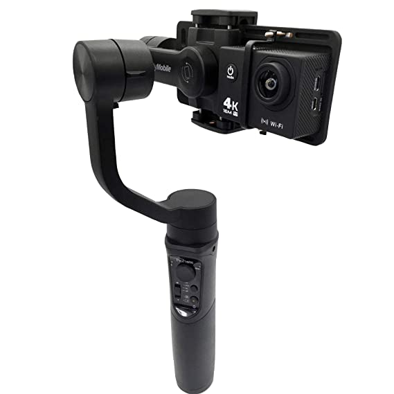 for DJI OSMO 2 EVO Smove Freevision Moza Feiyu Gimbal Action Camera Adapter for Phone Gimbal Stabilizer Compatible for Hohem iSteady Mobile,ZHIYUN Smooth 4 UV Plate, Adapter Only