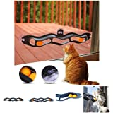 Sanwooden Funny Cat Toy Funny Plastic Track Ping Pong Ball Sucker Pet Kitten Cat Toy Interactive Gift Pet Supplies
