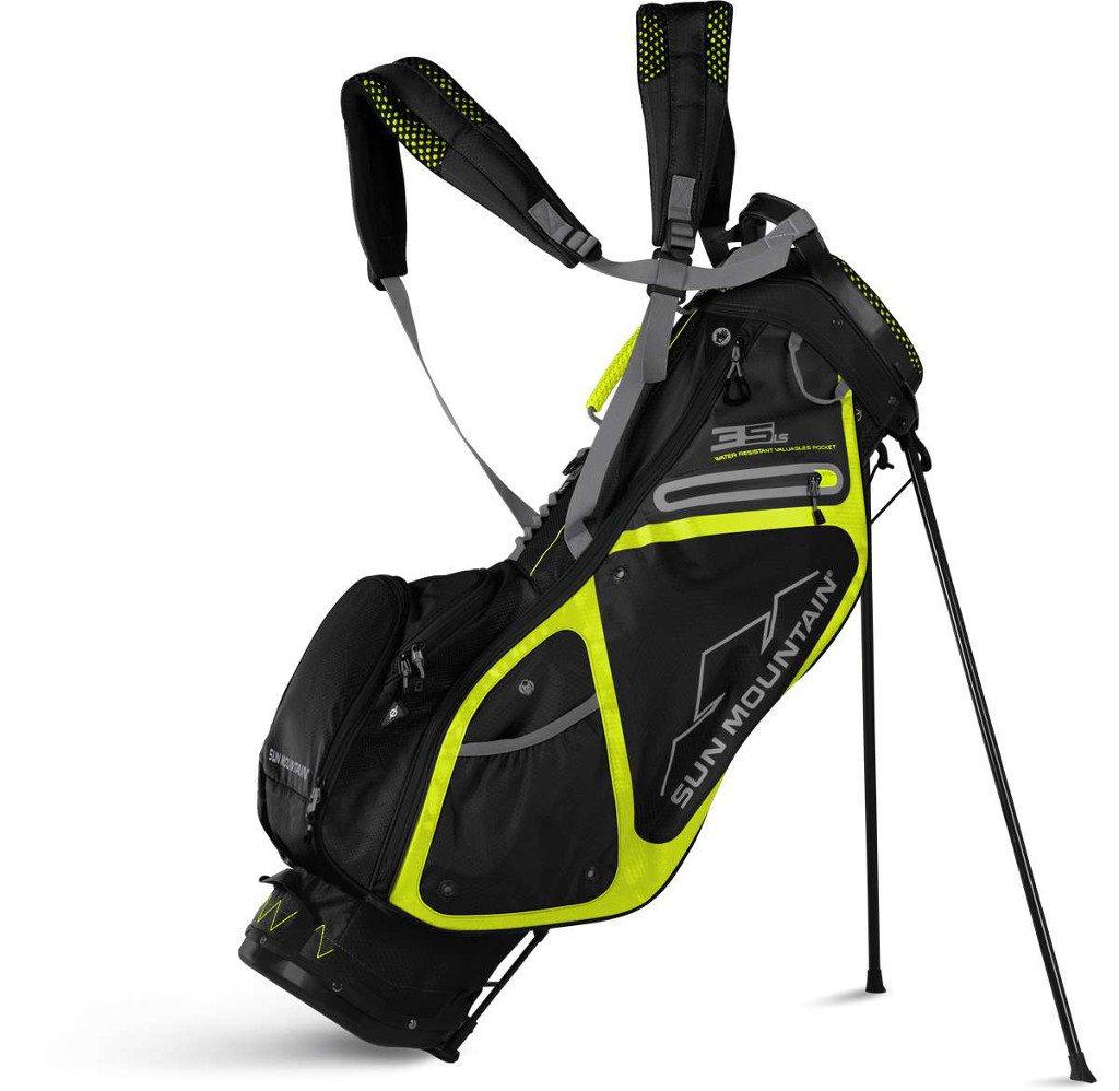 Sun Mountain Golf 2018 3.5 LS Stand Bag BLACK-FLASH (Black/Flash)