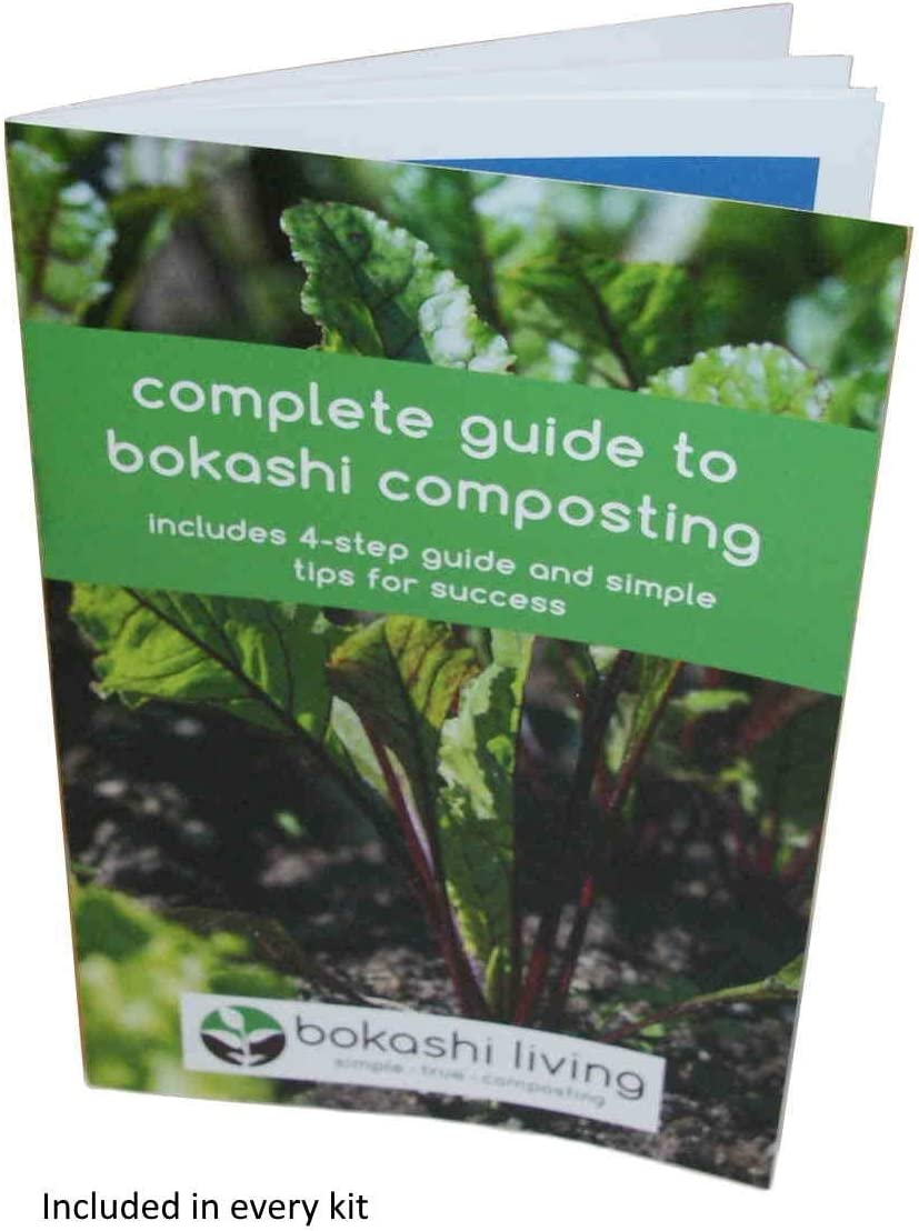 Amazon.com: Bokashi Kit de iniciación de compostaje (incluye ...