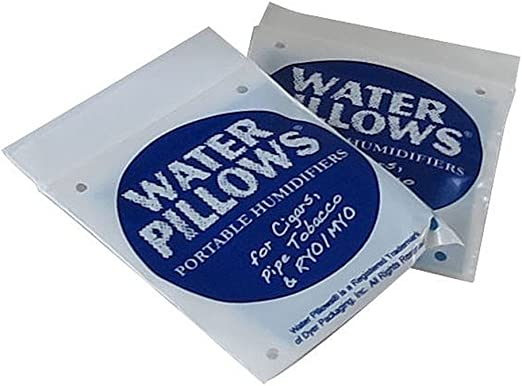 6 Pack for Cigar /& Pipe Humidification Water Pillow Blue