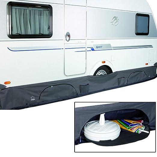550/x 60/cm grise universelle Jupe de bas de caisse pour caravane Eurotrail