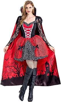 PROTAURI Vampiro de disfraces de Halloween para mujer - Disfraz de ...